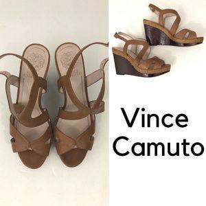 Vince Camuto - Platform Wedge Strappy Sandals